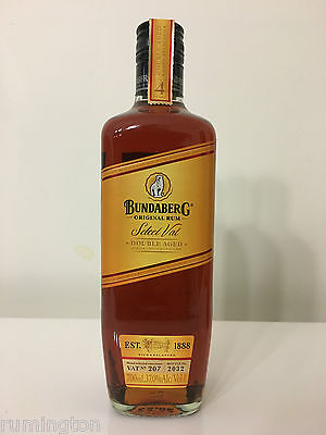 Select Vat 207 - Numbered bottle - Bundaberg Rum