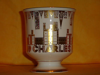 C03 1969 Prince Charles Investiture as Prince of Wales  Goblet