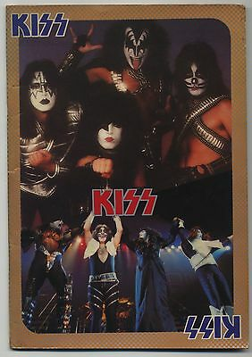 Kiss - Japan Tour JAPAN PROGRAM March 28-April 2 1978