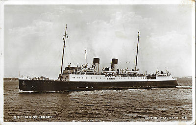 RP Card SOUTHERN RAILWAYS SHIP S.S. ISLE OF JERSEY (later LIBDA) – Unposted