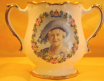 QM19 Queen Mother 100th Birthday by Fenton China