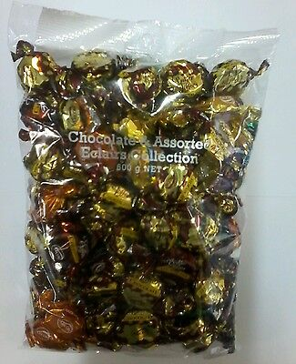 Chocolate and Assorted Eclairs 600g