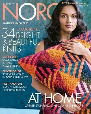 NORO Knitting Magazine - Issue 9, Autumn/Winter 2016 (inc 32 Patterns)
