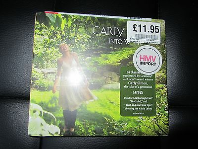 Carly Simon Into White Cd New Shrinkwrapped