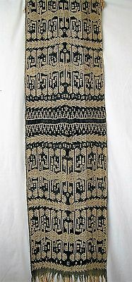 FINE TIMOR IKAT MAN'S WRAPPING or SHAWL  INDONESIA #160923