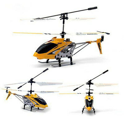 Syma S107/S107G 3CH RC Helicopter Remote Control Toy w/Gyro Kids Gift Yellow New