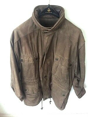 Timberland Waterproof Leather Coat, Mens, size M/L