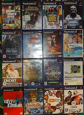 16 x PS2 playstation 2 games EACH TITLE IS DIFFERENT collection JOB LOT bundle
