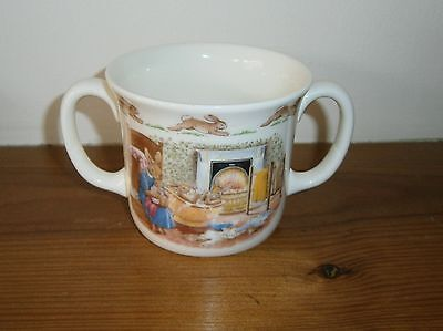 "Royal Doulton Fine Bone China ""Bunnykins"" Two-Handled Cup"