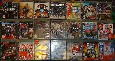21 x PS3 playstation 3 games EACH TITLE IS DIFFERENT collection JOB LOT bundle