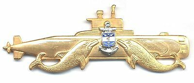 COLOMBIA Navy Submarine qualification badge, Officer, 1990s
