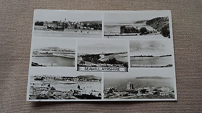 Seamill Ayrshire Multiview Post Card