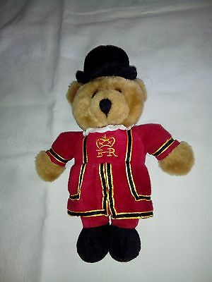 Teddy Bear, Beafeater Mascot / Souvenir of LONDON