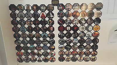 collection complete STAR WARS Cosmic shell Leclerc 2015 ET 2016