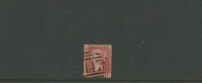 GREAT BRITAIN ~ 1d penny red ~  447 cancel ~ see scan [#263] victoria