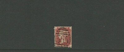 GREAT BRITAIN ~ 1d penny red ~ 365 cancel ~ see scan [#265] victoria