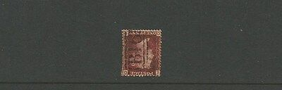 GREAT BRITAIN ~ 1d penny red ~ B16 cancel ~ see scan [#268] victoria