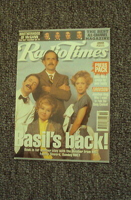 FAWLTY TOWERS POSTCARD RADIO TIMES 75th ANNIVERSARY NEW UNUSED