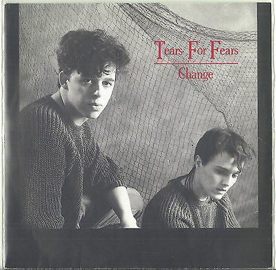 """Tears For Fears Change Withdrawn 7"""""""