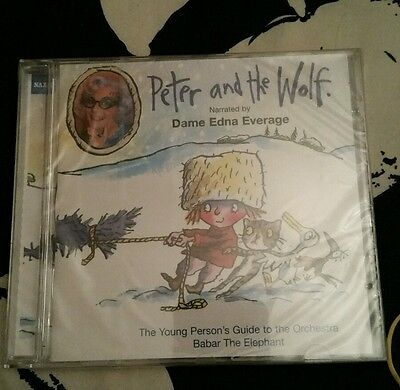 Peter And The Wolf. Narrated By Dame Edna Everage SEALED