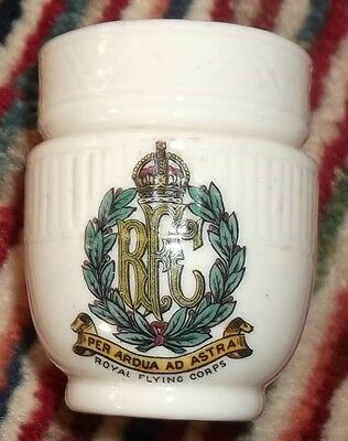 Royal Flying Corps crested Goss urn