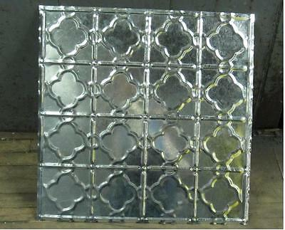 Original Antique Design #7 Metal Ceiling Panel 24 In X 24 In 30 Ga. Nr $14.