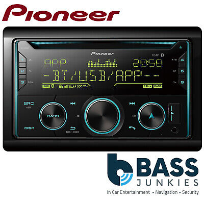 Pioneer FH-X730BT Double Din USB MP3 AUX Bluetooth iPod iPhone Car Stereo Player