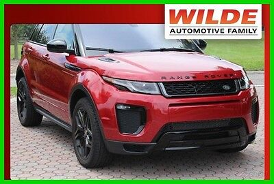 2016 Land Rover Range Rover Loaded/Driver Assistance Plus Pack/Premium Sound 2016 Land Rover Range Rover HSE Dynamic 2.0L I4 16V Turbo 240 HP 4WD SUV Premium