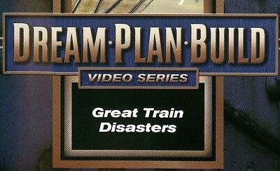 Great Train Disasters DVD 73167D Dream Plan Build Video Series EX