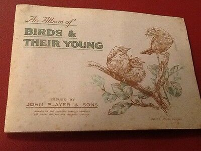 Cigarette cards, Birds And Their Young
