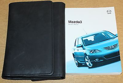Mazda 3 Handbook Owners Manual Wallet 2003-2006 Pack 3792