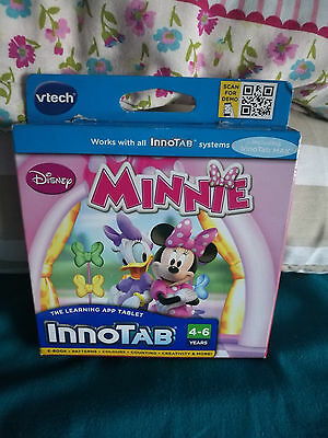 VTech InnoTab Software Minnie Mouse Bow-tique  Learning Game Software Cartridge