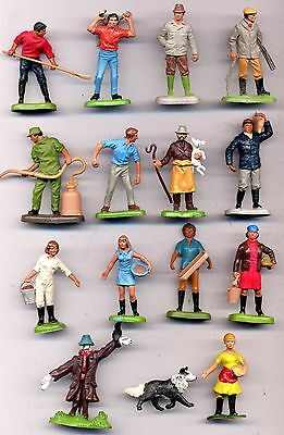 Britains Herald - lot of 14x vintage farm figures people