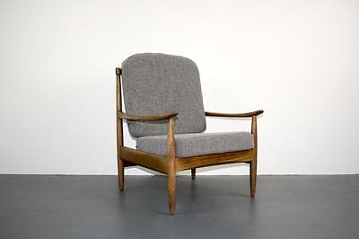 VINTAGE DANISH 1950s 1960s MIDCENTURY LOUNGE ARM CHAIR #1879