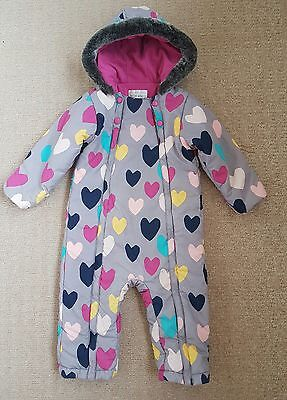 Marks and spencer girls snowsuit age 2-3. immaculate condition