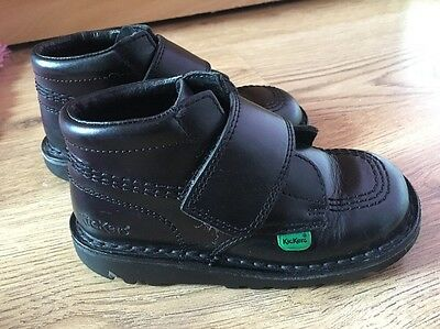 Kickers Kids Black Shoes