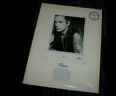 New Ozzy Osbourne Limited Edition Print - *No 360 Of 2500*