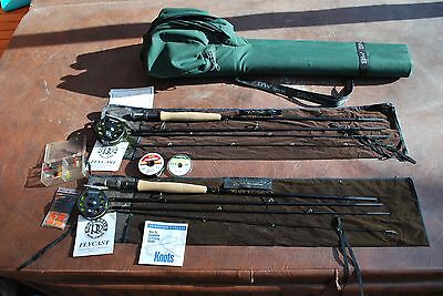 TFO Fly fishing rod and reel combo
