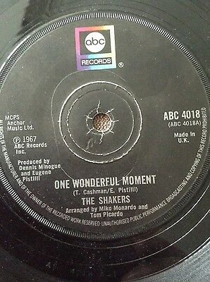 Northern Soul Records - The Shakers, one wonderful moment