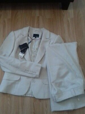 Next Trouser Suit 12r & Size 14 Jacket. New With  Tags