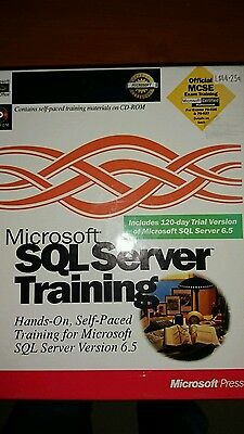 SQL SERVER V 6.5 Training books and software.