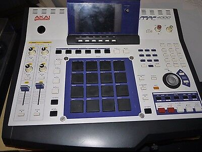 Akai mpc 4000, working condition with SSD hard drive and sound libraries