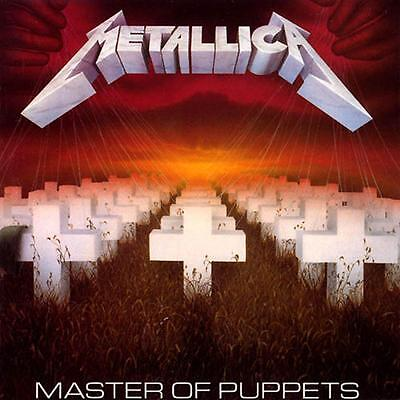 Metallica ~ Master Of Puppets ~ Vinyl Lp ~ *new And Sealed*