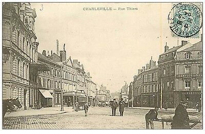 08 CHARLEVILLE - Rue Thiers