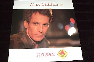 "ALEX CHILTON 12""Single NO SEX"