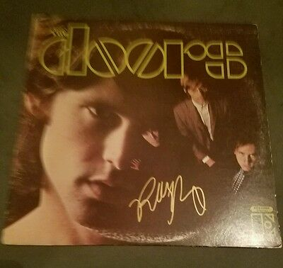 Robby Krieger THE DOORS  - Debut Album Autographed Signed