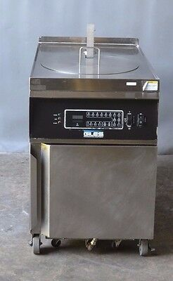 Used GILES GEF- 720 (04/13) CHICKEN ELECTRIC FRYER with FILTER, Free Shipping!