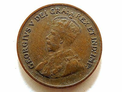 1932 Canadian One (1) Cent Coin