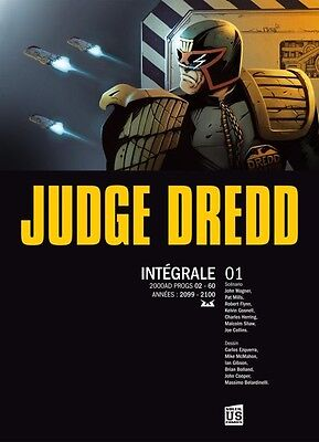 Judge Dredd Integrale Vf 4 Tomes Editions Soleil Us Comics Rare !!!