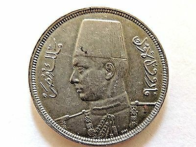 1941 Egypt Five (5) Milliemes Coin